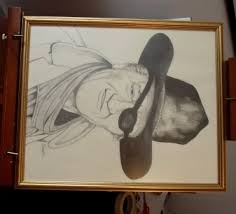 andrew sabori muralist artist pencil sketches for sale