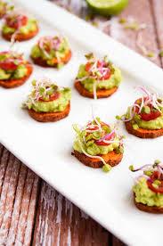appetizer canape potato avocado bites blissful basil