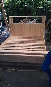 California King Platform Bed Frame Plans by 100 Best Woodworking Bed Plans Images On Pinterest Woodwork