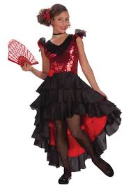 child spanish dancer costume