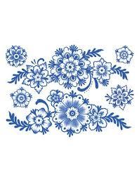 delft floral ornaments tattooednow ltd