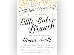 brunch invitations baby shower brunch invitations mes specialist