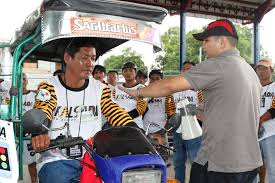 tricycle philippines malampaya gas project empowers women and tricycle drivers