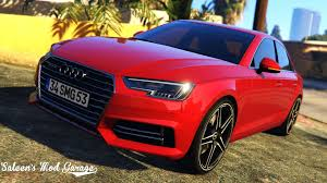 audi a4 2017 audi a4 quattro abt add on replace tuning gta5 mods com