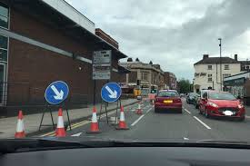 traffic lights not working temporary traffic lights in burton will not be around for much