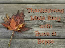 thanksgiving made easy with buca di beppo i like it frantic