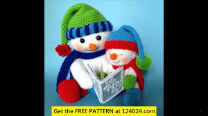 free crochet christmas patterns youtube