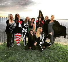 halloween background party scenes kourtney kardashian throws epic halloween party at home for