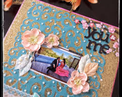 personalized scrapbook albums wedding scrapbook album large photo album personalized