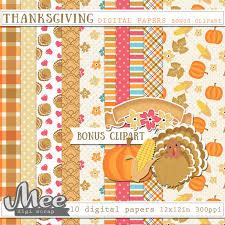paper thanksgiving scrapbook paper