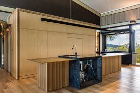 Designer Kitchens Brisbane Luxury Queensland Home U2013 Designer Kitchen With American Oak