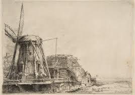 the windmill rembrandt van rijn 41 1 12 work of art
