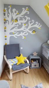 guirlande lumineuse chambre bébé guirlande lumineuse dans une chambre de bébé aux tons jaunes et gris