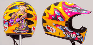 bell helmets motocross motocross action magazine flashback friday mcgrath u0027s helmet