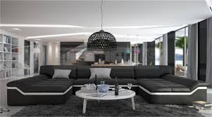 wohnlandschaften natuzzi moderne wohnlandschaft barari u form sofa design couch relaxsofa