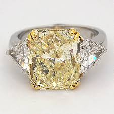 fancy yellow diamond engagement rings fancy yellow diamond engagement ring