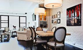 13 bold dining room designs with exposed brick walls rilane