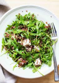 quinoa salad for thanksgiving quinoa arugula and feta salad recipe simplyrecipes com