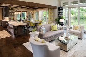 traditional open concept kitchen designs living room traditional