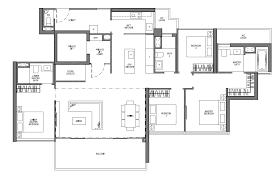 residence floor plan seaside residences floor plans frasers centrepoint homes
