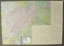 Asia And Middle East Map by Afghanistan Central Asia U2013 Middle East Paper Wall Map Jimapco