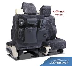 tactical ballistic camo kryptek typhon seat covers with molle system