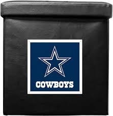 Dallas Cowboys Home Decor Dallas Cowboys Ottoman Home Decor Home U0026 Office Accessories