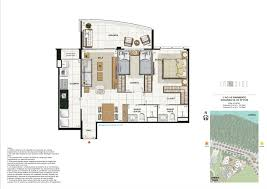 home design drawing in side península home design