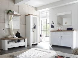 garderobenschrank design landhaus weiß mit spiegel dekor pine design country