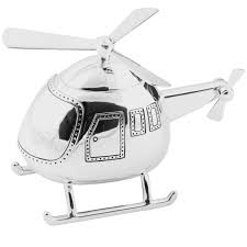 silver plated baby gifts silver plated helicopter money box gift idea for baby
