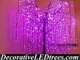 Decorative Trees With Lights Led Tree Rentals Decorative Led Trees