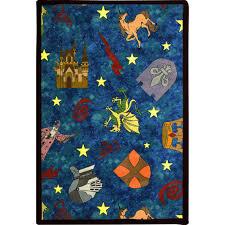 Kingdom Rugs Joy Carpets Playful Patterns Mythical Kingdom Multi Area Rug