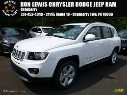 white jeep 2016 2016 bright white jeep compass latitude 4x4 106977388 gtcarlot