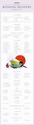wedding registry stores list wedding registry checklist popsugar food