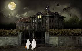 Creepy Halloween Poem Halloween Haunted House Wallpaper Halloween Haunted House Hd