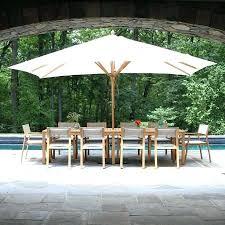 Rectangle Patio Umbrella 8 Ft Canopy Unique Rectangular Patio Table Umbrella Teak Patio