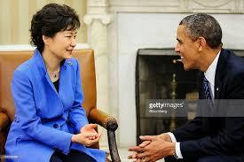Seeking Obama Obama And South Korean President Park Geun Hye Meet Hold Joint