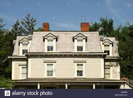 exterior mansard roof construction and roof shapes and styles