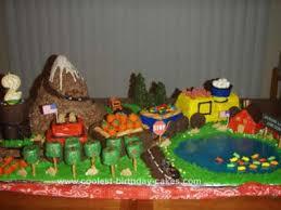 coolest choo choo train birthday cake