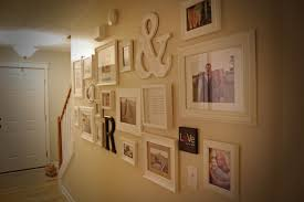 Dark Hallway Ideas by How To Make A Gallery Wall The In The Red Shoes