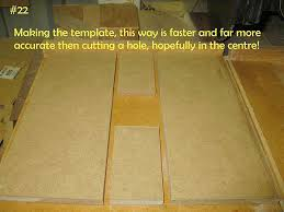 best material for templates router forums