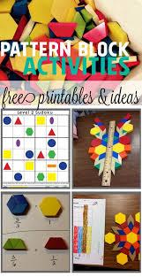 pattern blocks math activities cool math ideas for kids using pattern blocks fractions symmetry