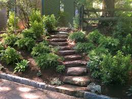 Slope Landscaping Ideas For Backyards Landscaping Landscaping Ideas For Backyard Slopes Quality