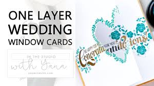 Buy Wedding Greeting Cards Online In The Studio With Yana One Layer Wedding Congratulations Cards