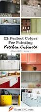 Kitchen Cabinets Colors Ideas 23 Best Kitchen Cabinets Painting Color Ideas And Designs For 2017
