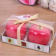 compare prices on apple shaped candles online shopping buy low