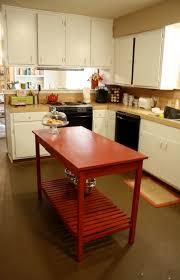 28 red kitchen islands kitchen islands on wheels red