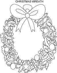 beautiful christmas wreaths coloring pages beautiful christmas