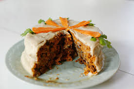 raw vegan carrot cake rheinland pfalz germany portrait