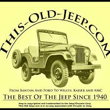 old yellow jeep this old jeep com youtube